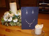 sada náhrdelník a naušnice,