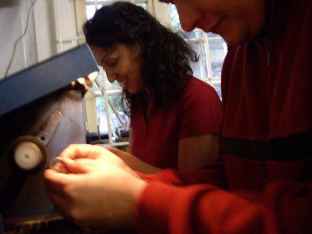 Muchlici: Ada a Peto 27.Jun 2009 - Tu uz lestime hotove prstienky