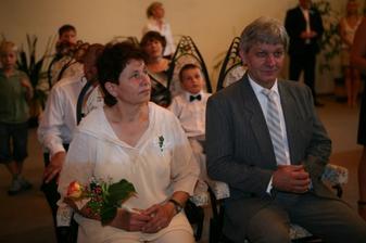 mamka s taťkou - nevěsta
