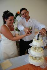 porcování dortu