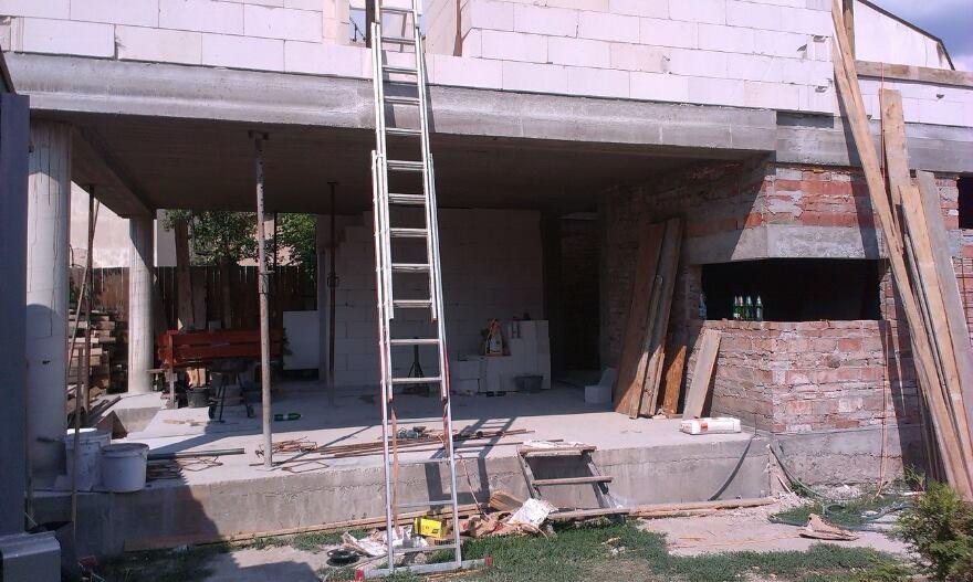 Veľká prestavba :) - Budúca terasa :)