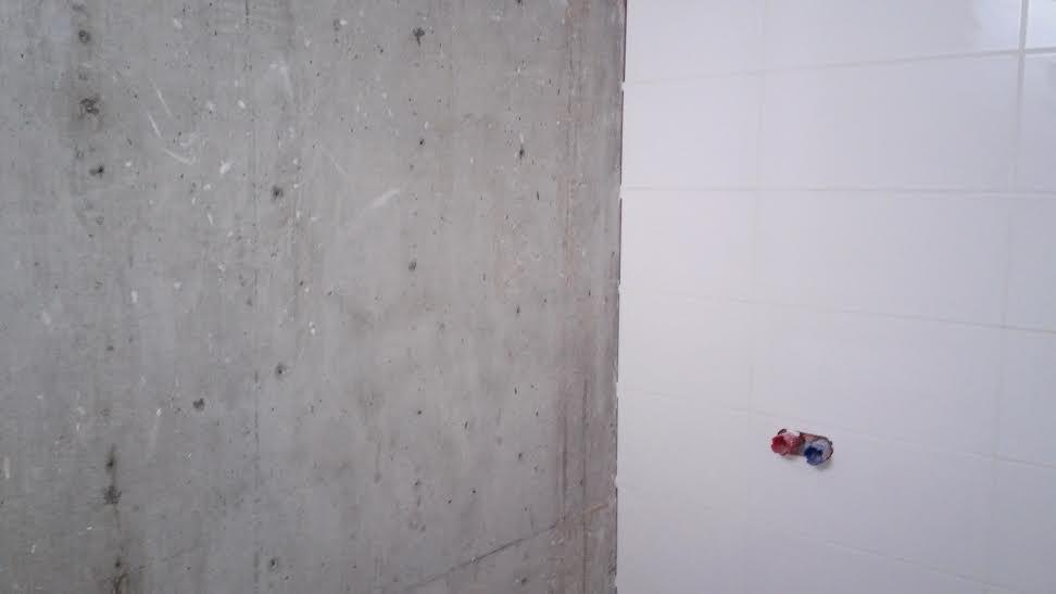 Veľká prestavba :) - Pohladový betón pred lakovaním