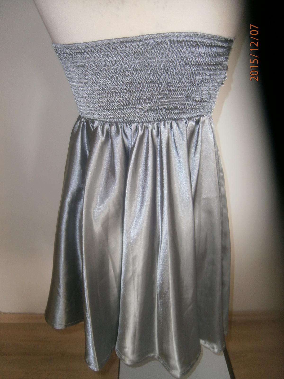 Jednoduché šaty vel.38 - Obrázek č. 2