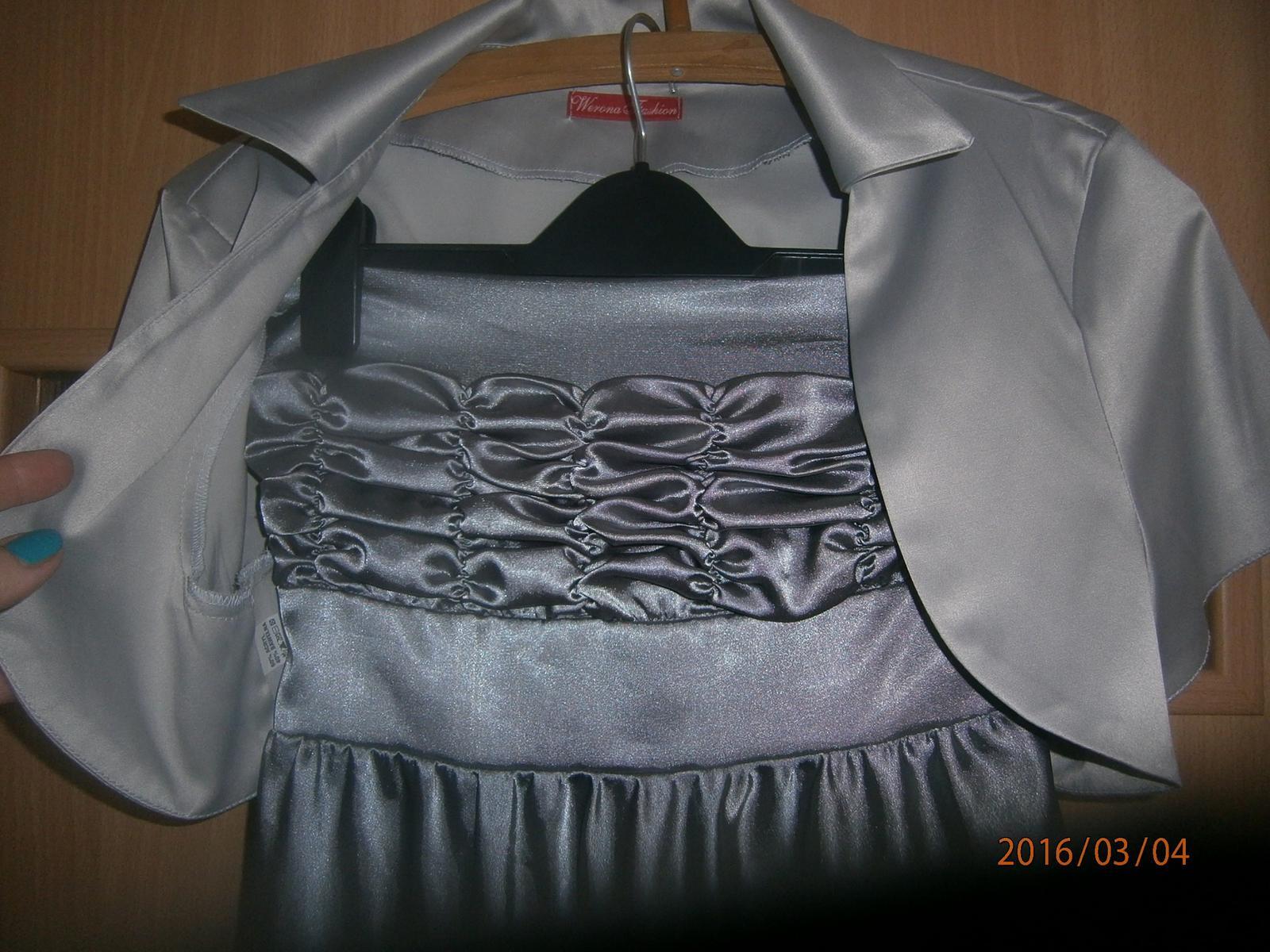 Jednoduché šaty vel.38 - Obrázek č. 4