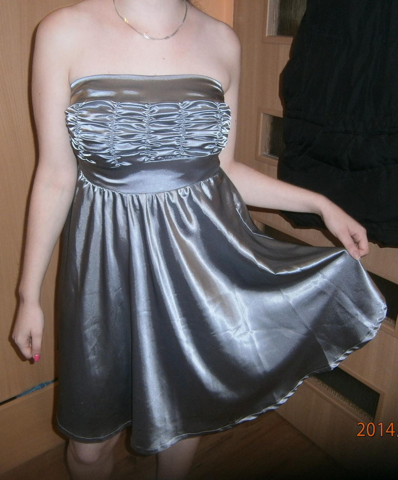 Jednoduché šaty vel.38 - Obrázek č. 1