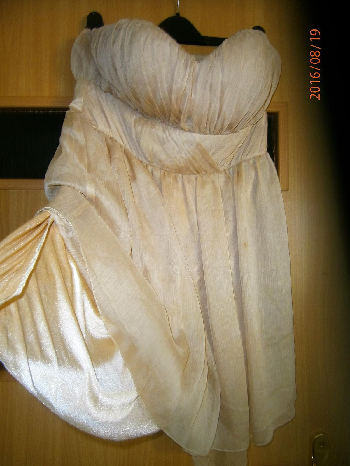 krátké šaty vel.40 - Obrázek č. 2