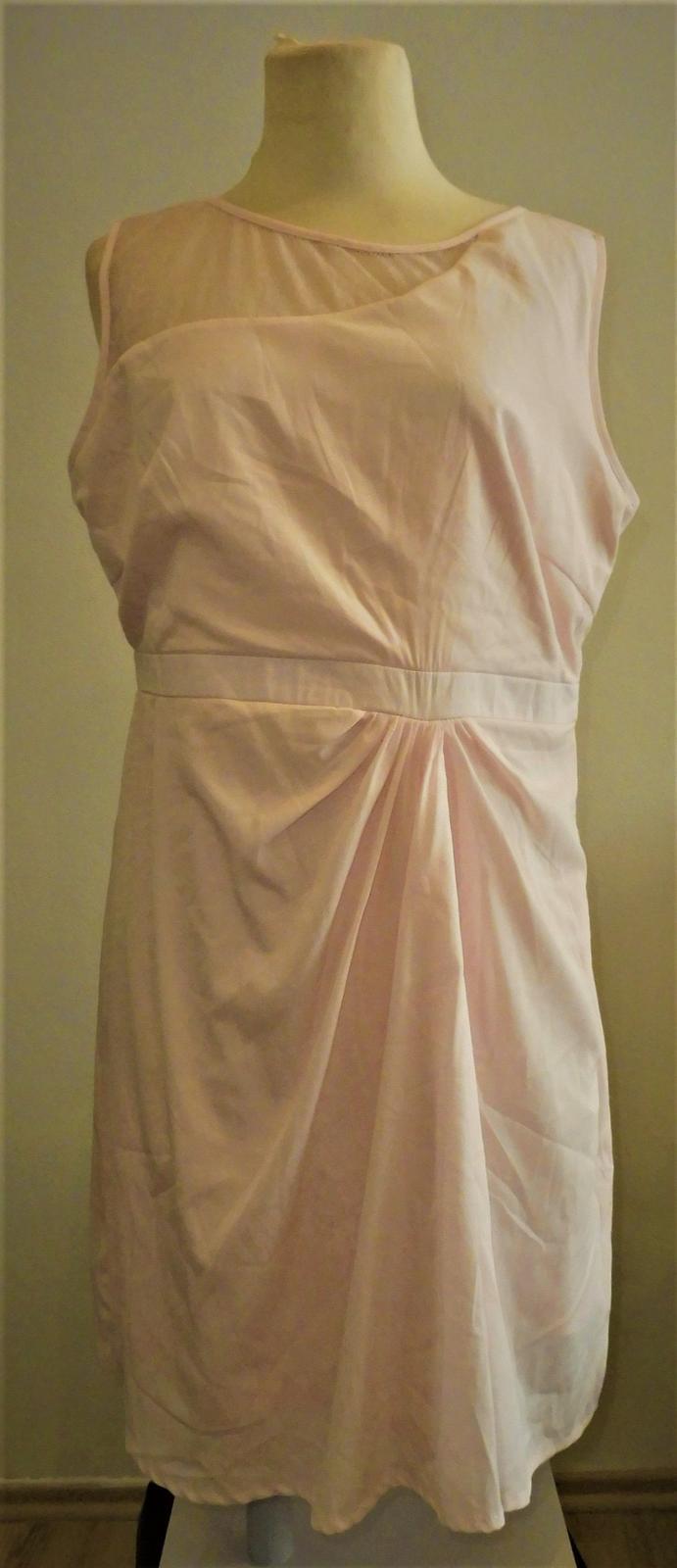 růžové šaty BPX vel.44 - Obrázek č. 1