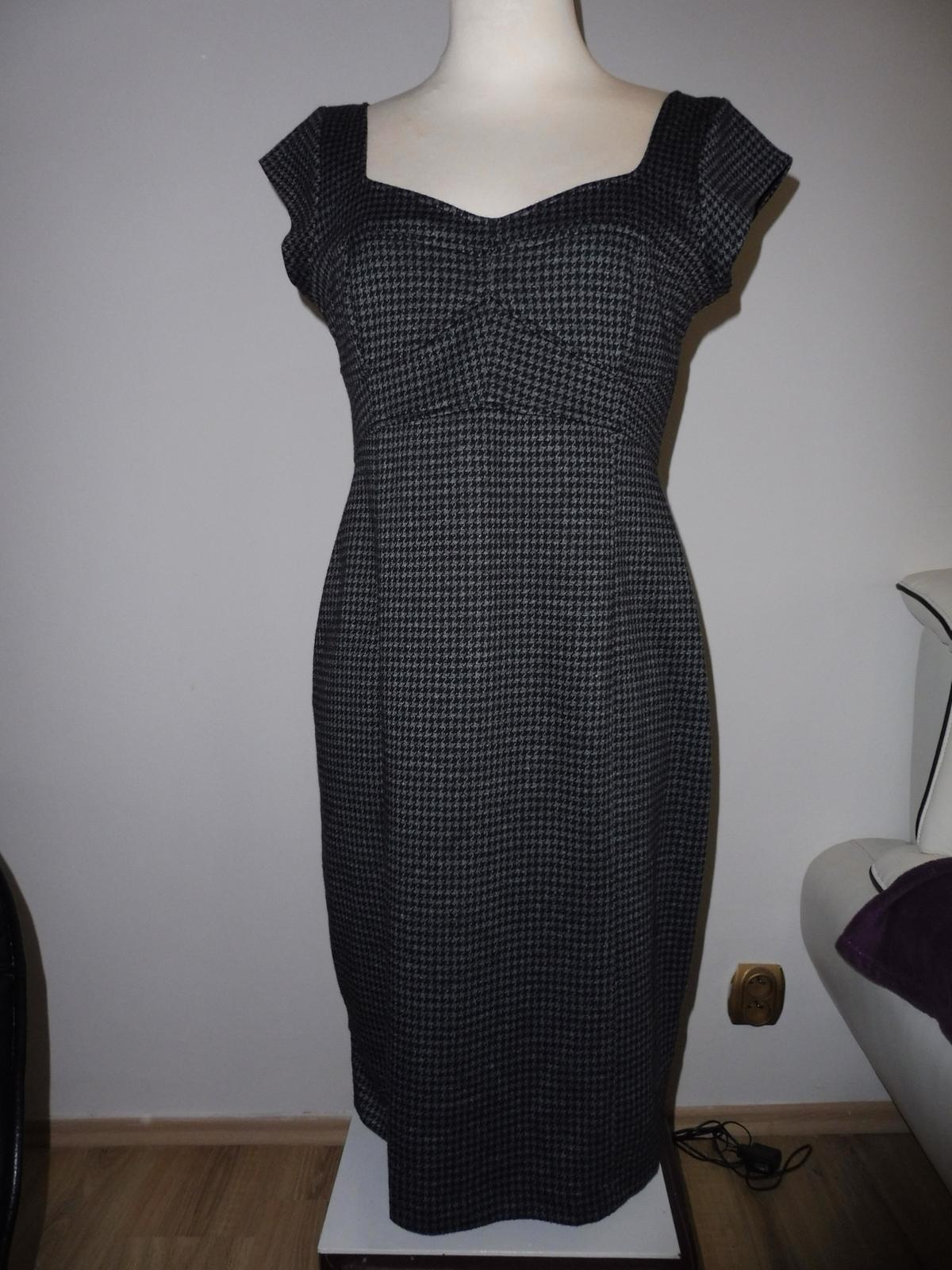 pouzdrové šaty vel.40 - Obrázek č. 1