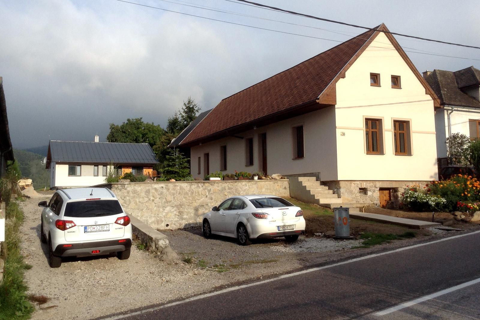 Rekonštrukcia domčeka z roku 1937 - ..... júl 2015