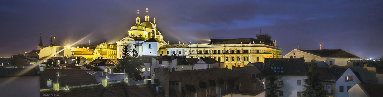 Už se nám to rýsuje :-) - Kostel Sv. Michala v Olomouci
