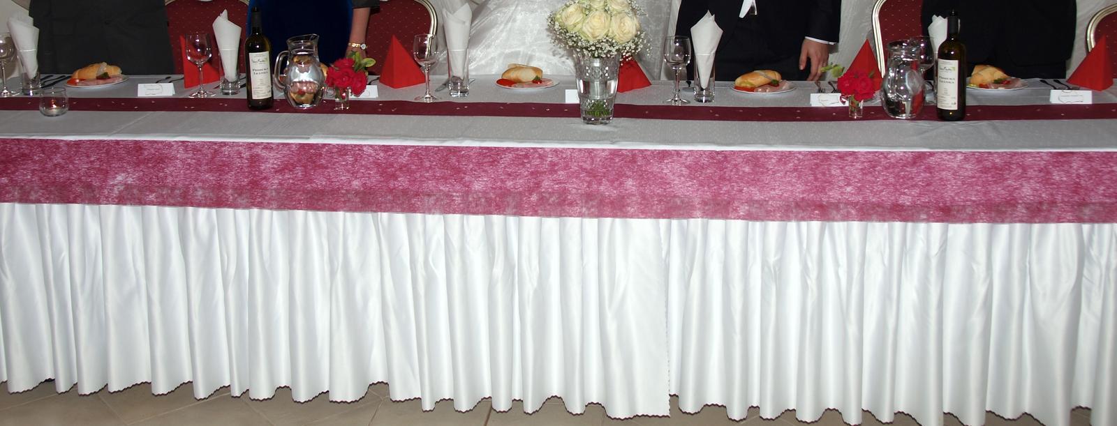 Ozdobný pás,pavučina,rúno,Ozdoba na stol. 0,5m/10m - Obrázok č. 3