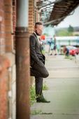 Oblek Pietro Filipi hnědý - Slim fit střih, 52