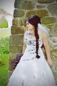 Svatební šaty se vzorem 38-42, 38