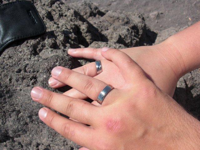 Aďka a Marek - naše zásnubné prstienky