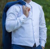 Pánska svadobná vesta s viazankou, 52