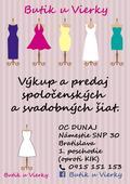 Svadobné a spoločenské šaty, 40
