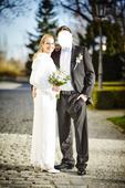 Těhotenské svatební šaty Tiffany Rose Amelia, 36