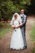 Svatební šaty XS/S top stav , 36