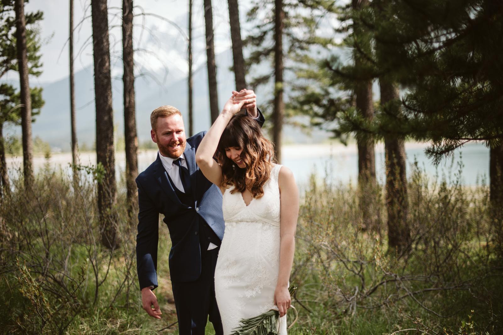 Kanadská svatba, Canmore - Obrázek č. 7