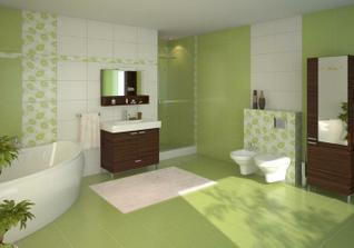 Vrchní koupelna a wc - Polinesia - objednáno :-)