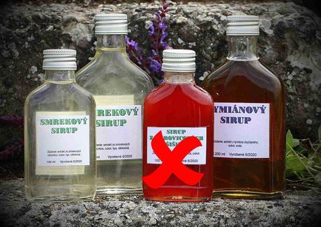 Sirup zo smrekových výhonkov a tymiánový sirup - Obrázok č. 1