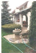 jezírko u verandy