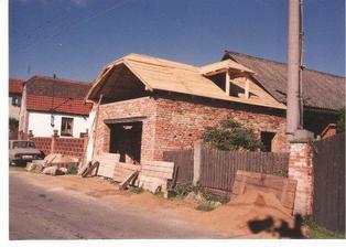 a stavba garáže
