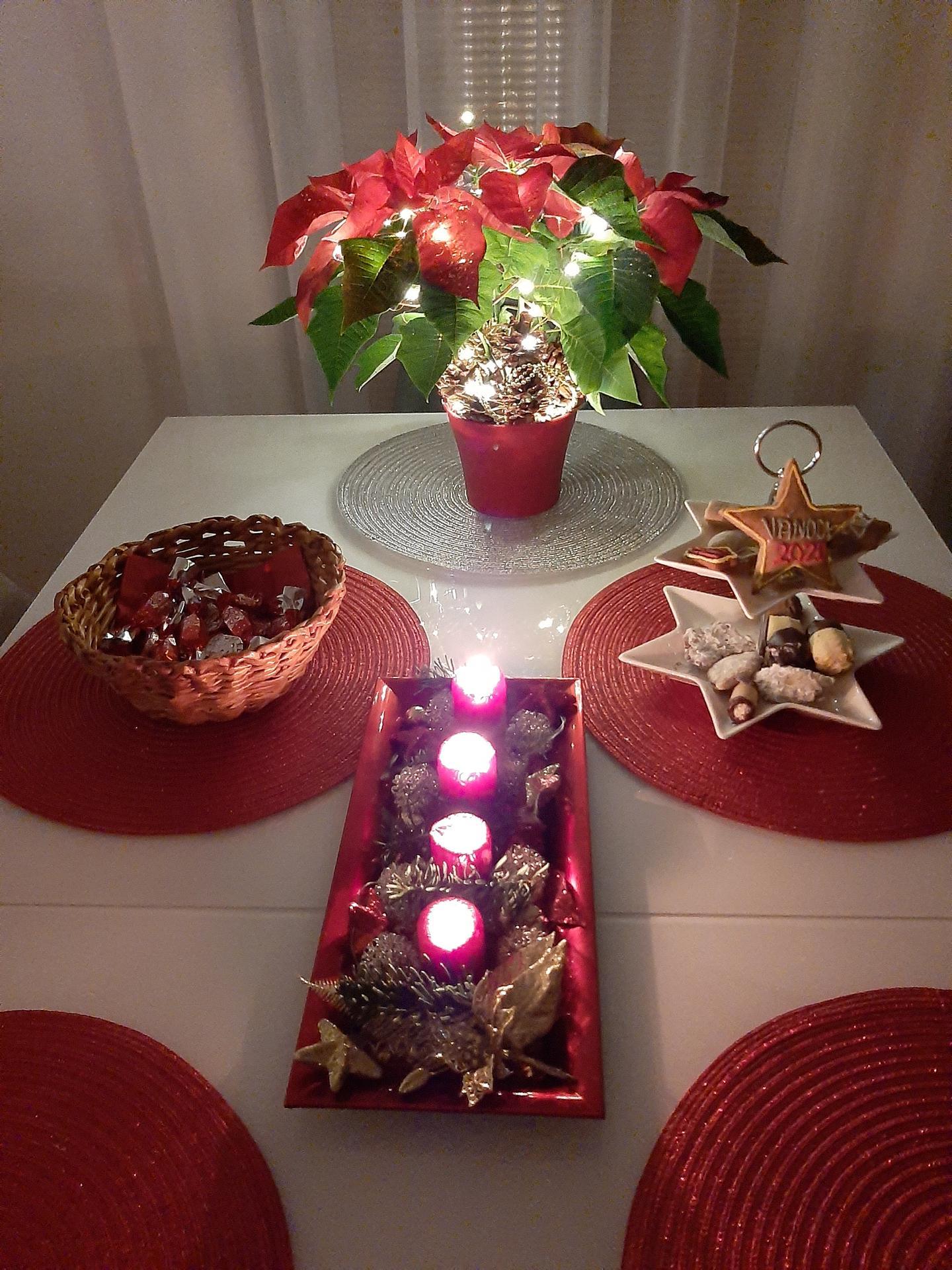 Vánoční čas je už i u nás-stromeček je na svym místě,tak už může přijít ježíšek🎄🎁😉 - Obrázek č. 3
