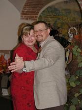 svědkyně a svědek (jsou taky manželé)