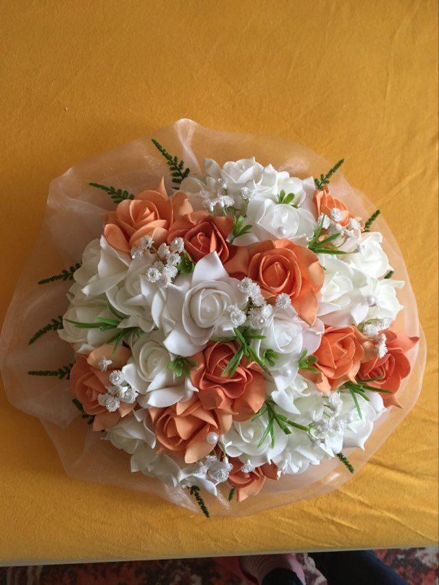 Svatební kytice na auto - Obrázek č. 1