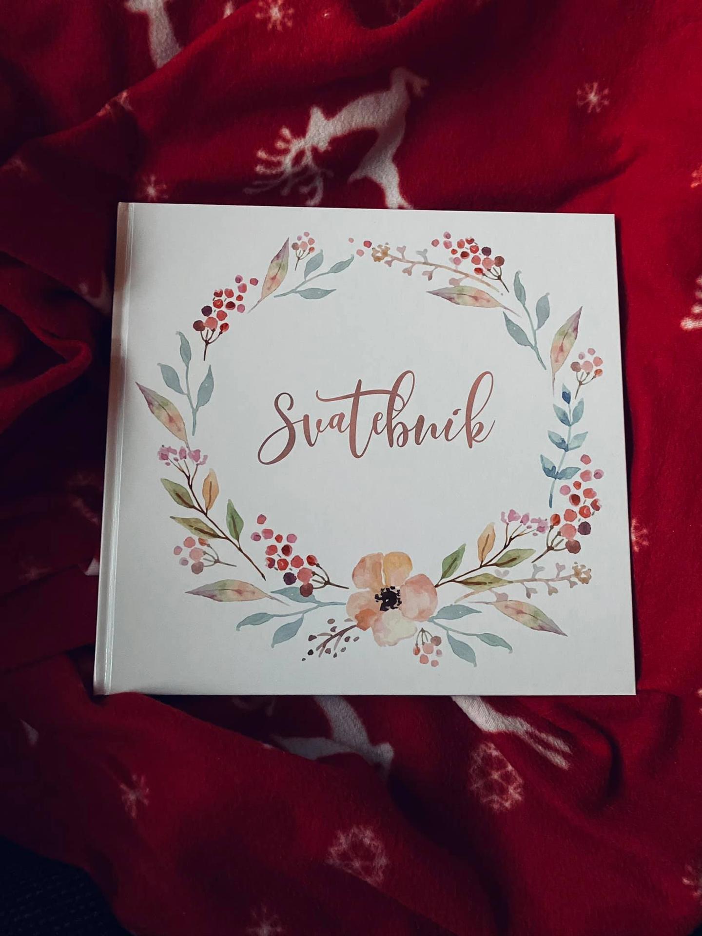 Přípravy - Svatebník od Mementerra bude fungovat jako svatební kniha se vzkazy od svatebčanů :)