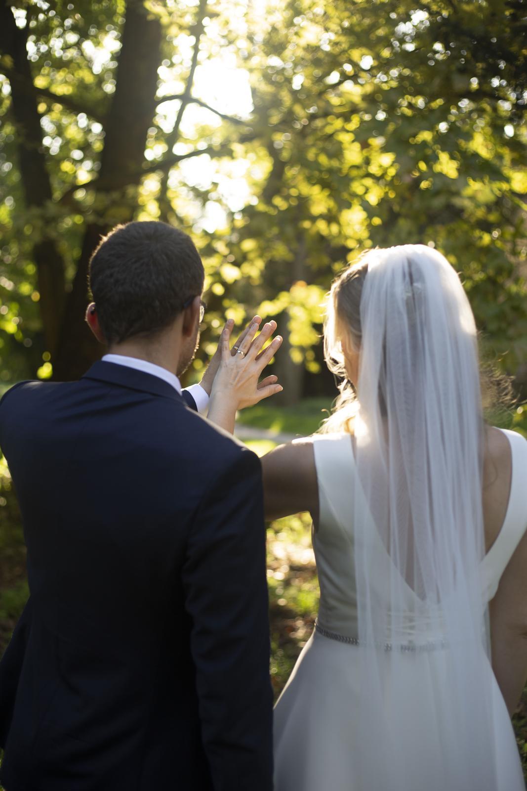 svadobné šaty, ivory (38-40)+ spodnička zadarmo - Obrázok č. 4