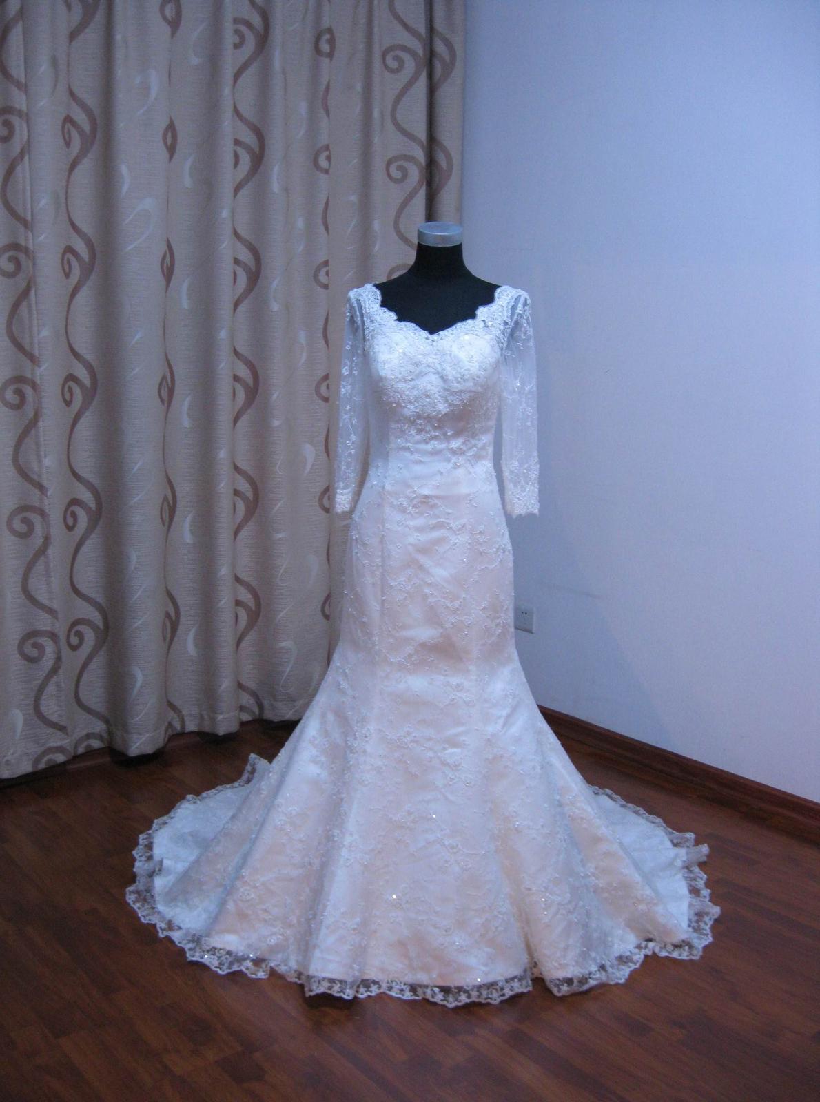 Nádherné svatební šaty 36/38 - Obrázek č. 1