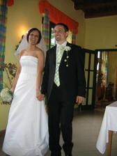 Dne 3.6.06 jsem byla své velmi dobré kamarádce na svatbě, měla naprosto dokonalou svatbu a ve svůj velký den vypadala nádherně. Děkuji za pozvání.