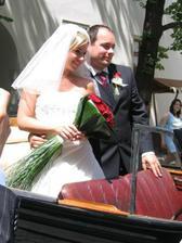 Dne 24.6.2006 se vdávala moje další kamarádka na Špilberku v Brně, taky byla úžasná :O)
