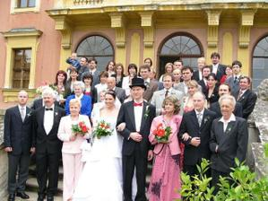 Společná-hromadná fotka - jé nás ale bylo a to nejsou všichni.