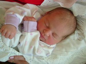 7/4/2007 se nám narodila Anička plod naší lásky