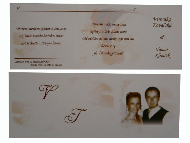 Veronika&Tomik - Originalna basnicka od mojho mileho
