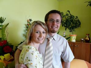 Nase zasnuby pred rokom 7.6.2008