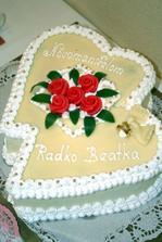 torta, ktoru sme dostali, dakujeme :)