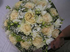 svadobná kytica na druhý deň