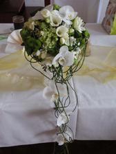 moje úžasná svatební kytička