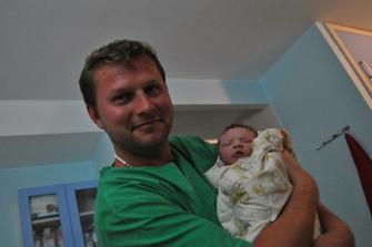 6.6.2011  se nám narodila Adélka