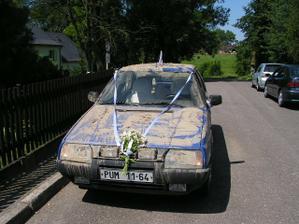 naše svatební autíčko