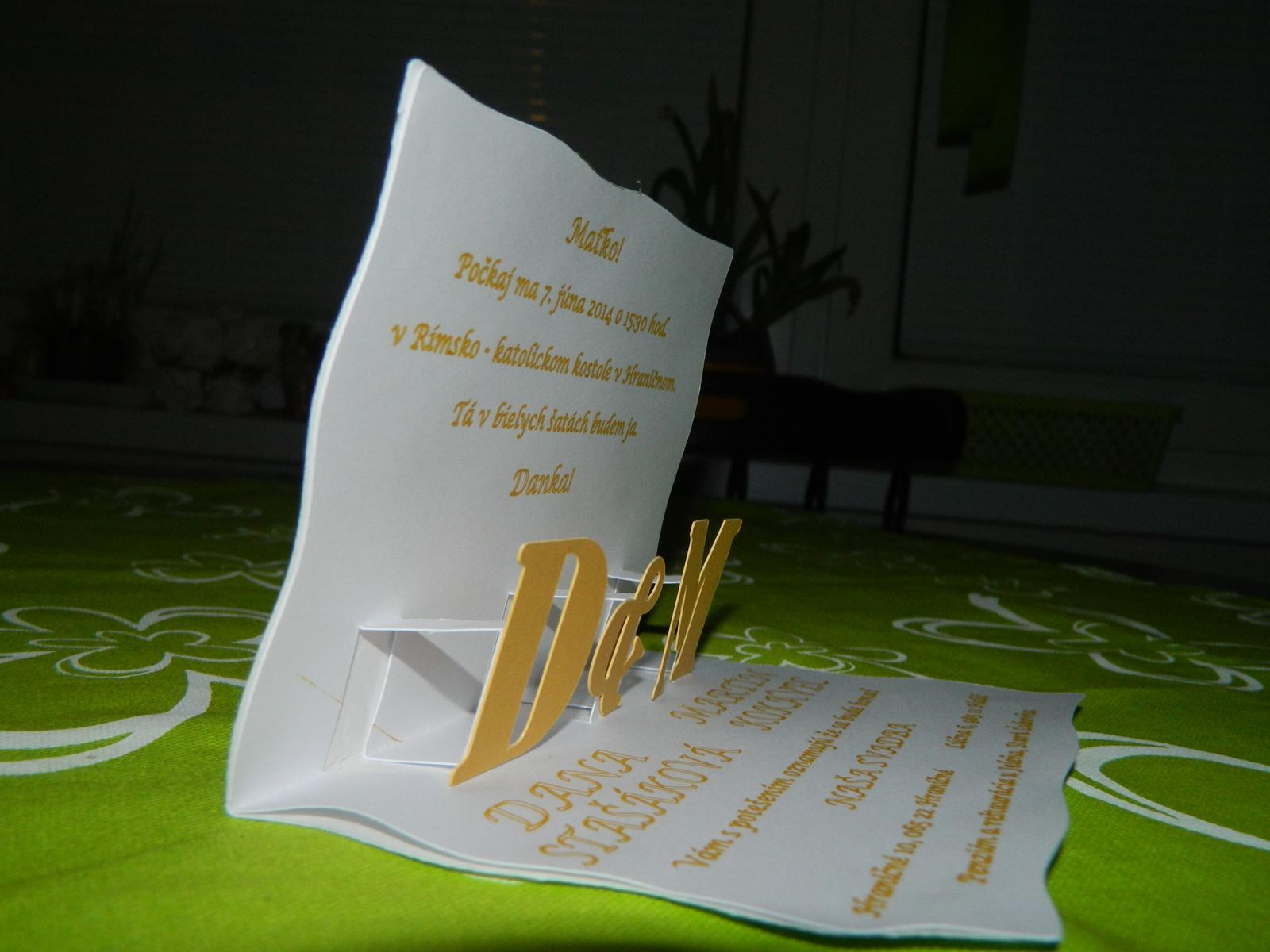 Naše svadobné oznámenia - Obrázok č. 5