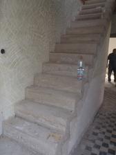 schody ošalované