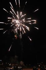 ako dar sme dostali ohňostroj...úžasné prekvapenie:-)