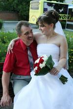 I když už vdaná paní, přesto tatinkova holčička :-)