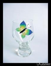 motýlek, krásný ... jako dekorace, možná i jako dárek ...