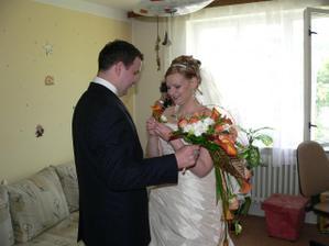 už ve svatebním